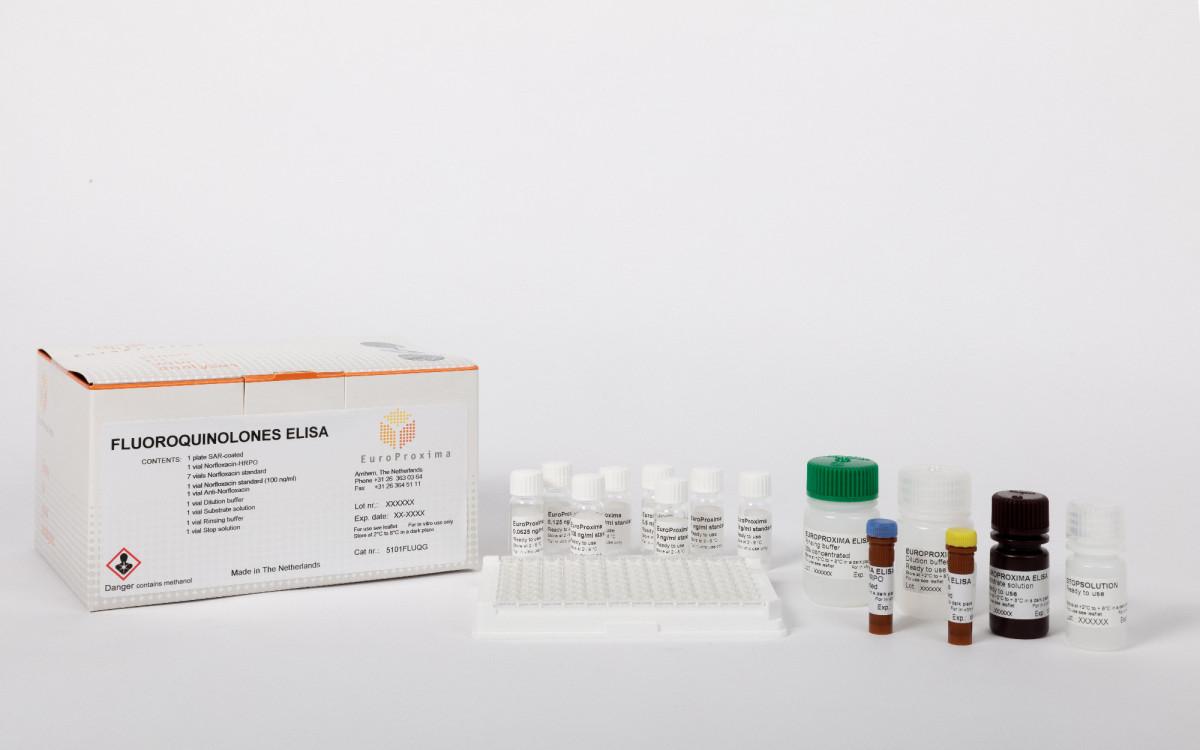 FLUOROQUINOLONES ELISA (Generic test) (5101FLUQG)